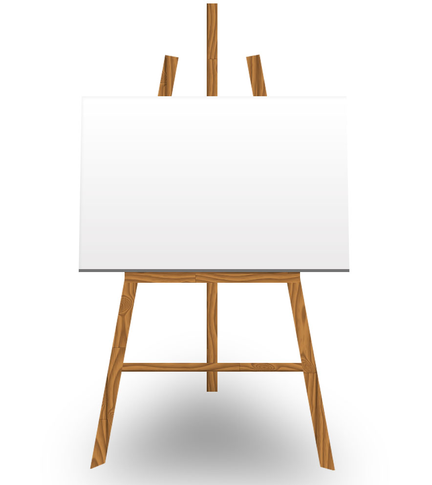 Who s afraid of the white canvas inspiration for for What to do with a canvas